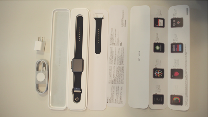 AppleWatchの中身