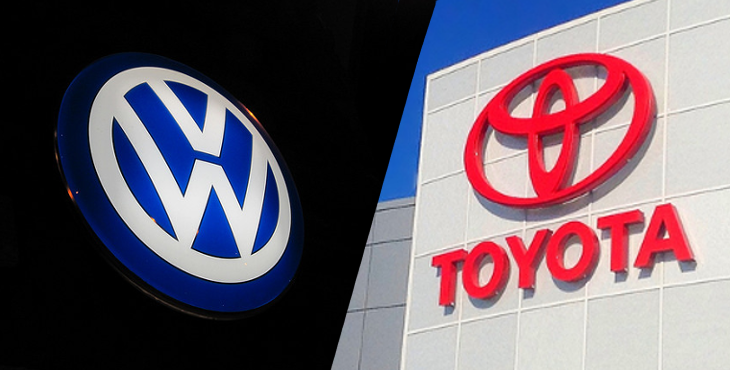 トヨタ・Volkswagen比較