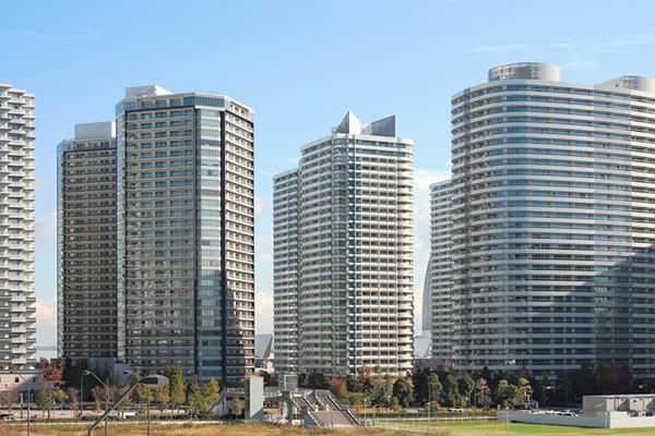 Minato Mirai skyscrapers