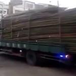 《超効率的?!》中国の荷下ろしが予想外すぎると話題に。