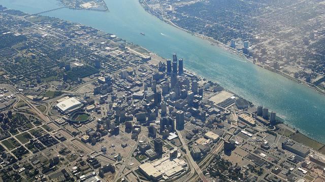 米国の自動車産業都市、デトロイトのいまをgoogleストリートビューで調べてみた