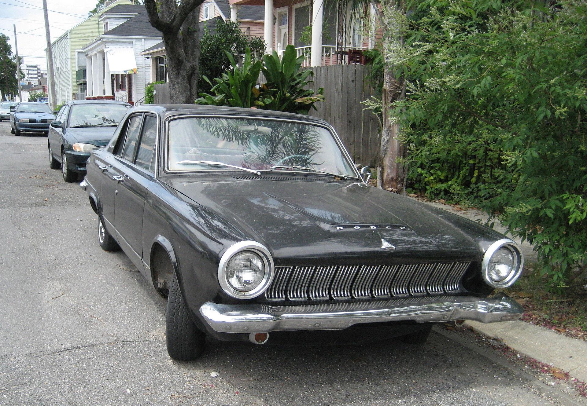 DodgeDartOneSeventy1963Front