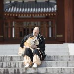 「柴犬まるのワン若心経」予約開始!奈良県薬師寺の和尚さんに会ってきたよ