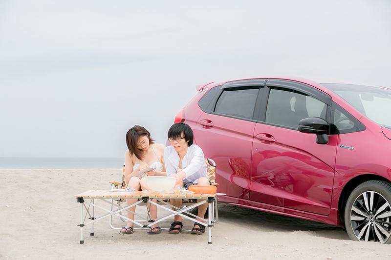 【夏休み企画】水着美女と一緒に茨城の海水浴場で自由研究の題材を探してみた【後編】
