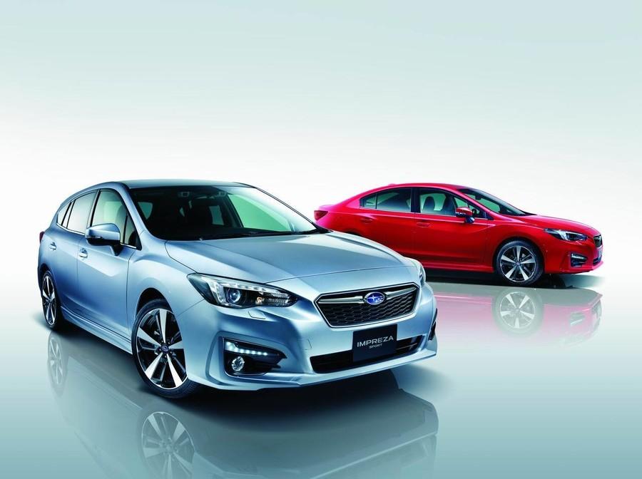 アイサイト標準搭載!スバル・インプレッサスポーツ/G4の安全性能・燃費・価格をアクセラ・シビックなどと徹底比較!