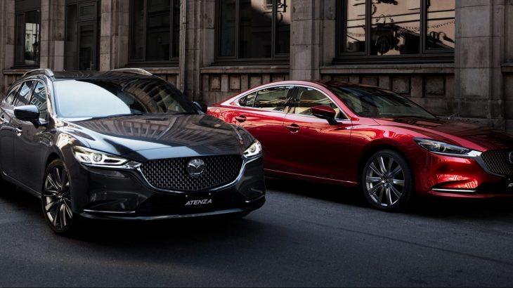 マツダのフラッグシップ、アテンザ セダン/ワゴンが内外装の大幅マイナーチェンジ!新型はディーゼルのパワーアップ、ガソリンモデルは2.5Lに気筒休止システム採用!