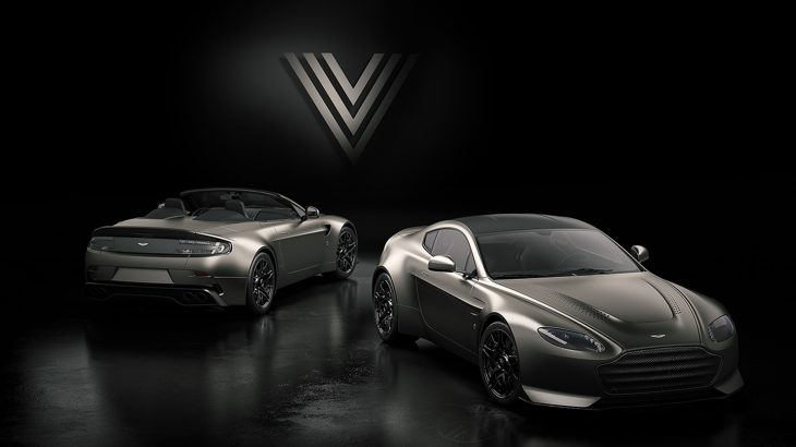 """アストンマーティン・V12ヴァンテージに""""V600""""を冠した限定モデル登場!7速MT搭載、クーペ・ロードスター各7台のみ完全受注生産!"""