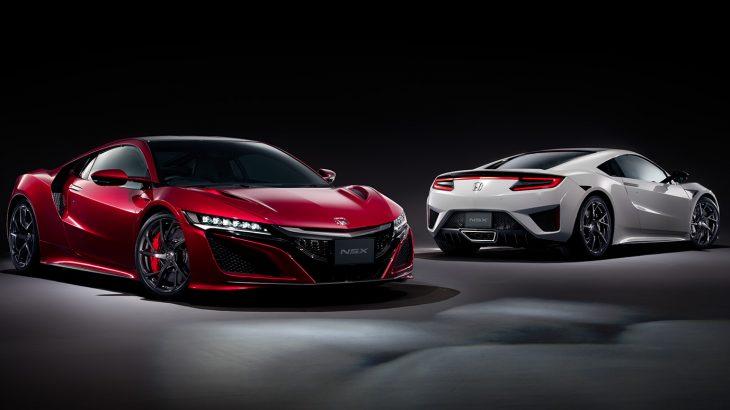 ホンダ・NSXがマイナーチェンジ、新型2019年モデルが登場!エンジンスペックはそのままに、エクステリアの小変更や足回りが進化!