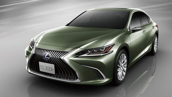 日本でも発売開始の新型レクサス・ES、オプションで量産車初のドアミラーレス化!GSやカムリ、ライバルセダンとのサイズの違いを徹底比較!