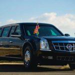 アメリカ大統領専用車のビースト(キャデラック・ワン)の新型が登場!トランプ大統領用のリムジンはバズーカ砲や化学・生物兵器にも対応!