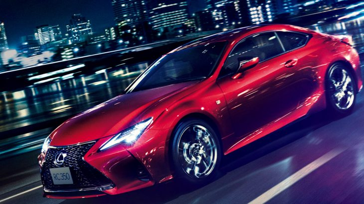 レクサス・RCがマイナーチェンジ、新型も300/300h/350のグレード構成は不変!ライバルの輸入車クーペ勢と価格・燃費を徹底比較!