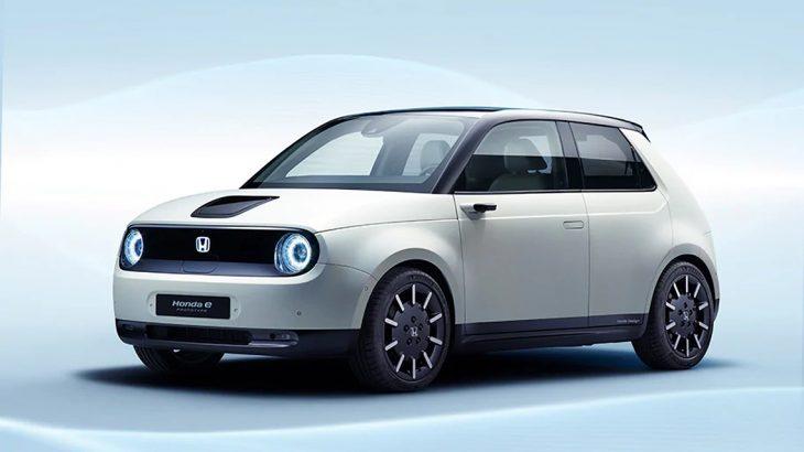 ホンダの新しい電気自動車アーバンEVの市販版 e のプロトタイプ発表!日本は2020年発売予定!