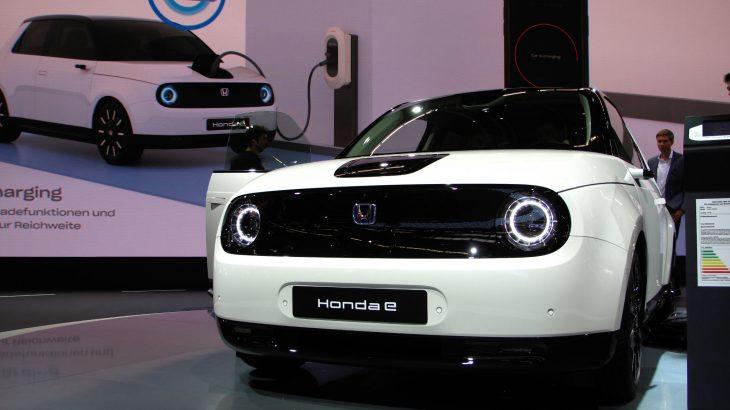 「ホンダe」ホンダの量産型電気自動車を発表!2019東京モーターショーで国内初公開!