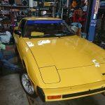 旧車の整備、初代RX-7のオイル漏れを修理してみる!