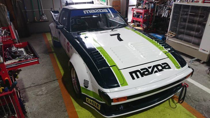 ノスタルジック・レースカーを紹介&修理!