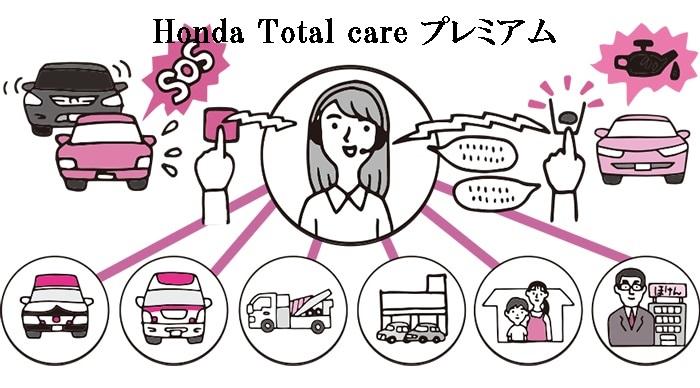 ホンダコネクトを利用したサービス!Honda Total Care プレミアムって?