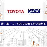 トヨタとKDDIが業務資本提携、街、家、人、クルマがつながる社会へ